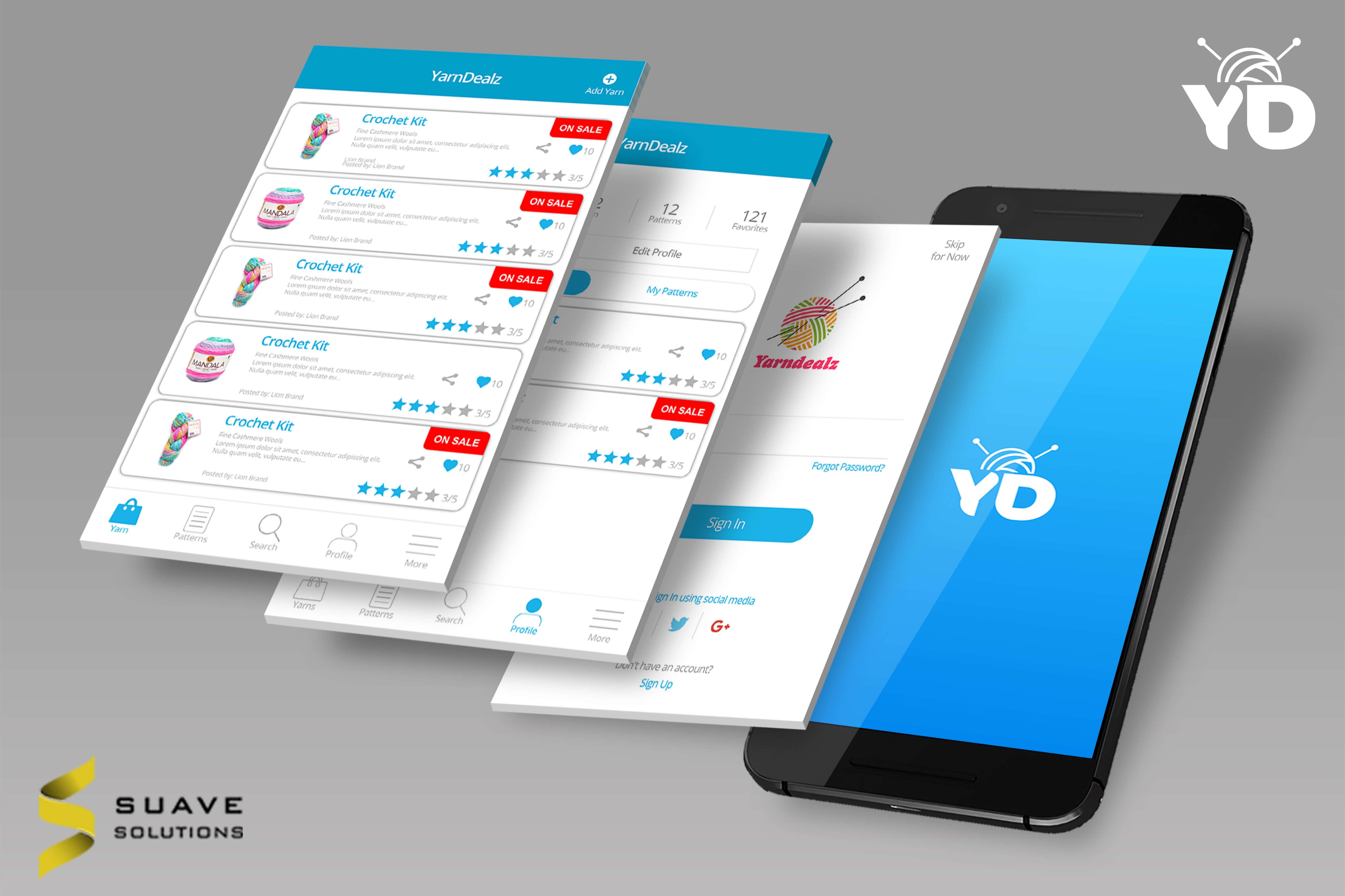 Mobile App Portfolio | Suave Solutions (Pvt ) Ltd